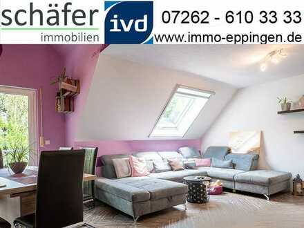 Ihre persönliche Wohlfühloase wartet auf Sie! - Helle 4 - Zimmer - Wohnung in Kürnbach