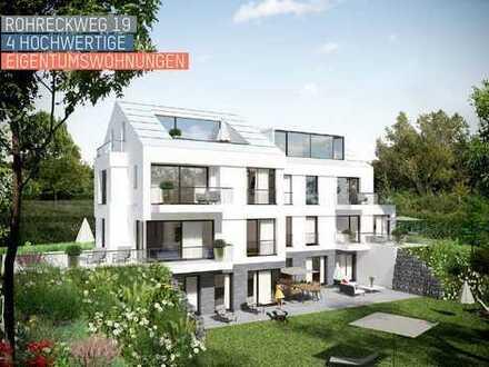 Neubau, Stuttgart-Frauenkopf, 5-6 Zi.-Whg. Erdgeschoss mit großem Garten, im Innenausbau,, Top Lage