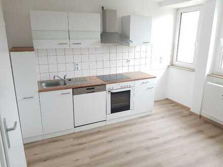 Hochwertige 3-Raumdachgeschosswohnung in ruhiger Lage! + neuer Laminatboden + mit Einbauküche