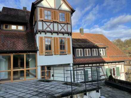 Fachwerkhaus im Historischen Zentrum von Waldenbuch
