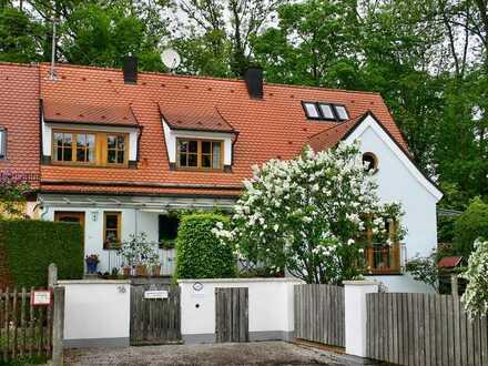 Idyllisch ruhig gelegene Doppelhaushälfte mit großem Garten von privat zu vermieten