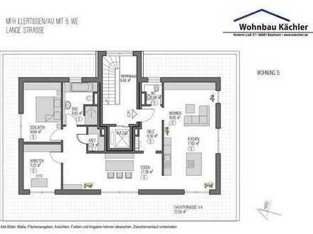 4-Zimmer-Penthousewohnung in Illertissen / Au in sehr guter/ruhiger Lage