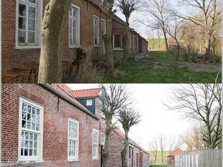 Hochwertige Eigentumswohnungen im Denkmalgeschützen Gulfhof