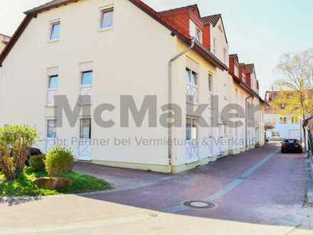 Zentral gelegene Kapitalanlage: 3-Zi.-ETW mit Balkon in Wiesloch