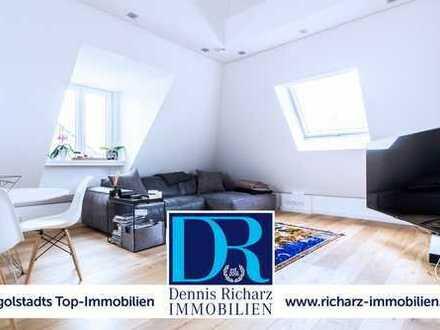 Exklusive Loft-/Penthouse-Wohnung im Alten Westviertel mit eigenem Aufzug direkt in die Wohnung