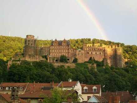 Exklusive, modernisierte 3-Zimmer-Wohnung mit Balkon, Neckar-/Schlossblick, Heidelberg-Altstadt