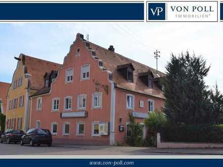 Historischer Gasthof in Schlossnähe sucht Menschen mit Vision und Mörtel