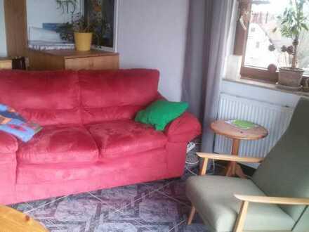Möbl. Zimmer für Frau (Christin), von Frau, in Wangen/Göppingen zu vermieten