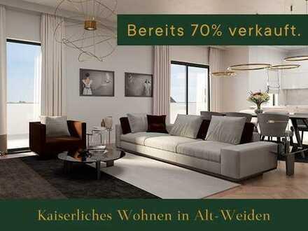 Kaiserliches Wohnen in Alt-Weiden Gartenwohnung 2 Zimmer