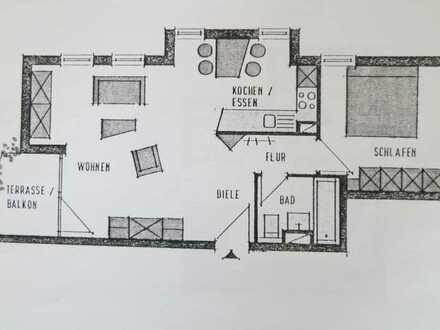 Freundliche 2-Zimmer-Wohnung mit Balkon in Nürtingen
