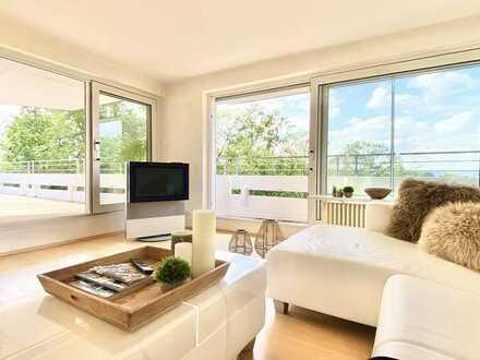 Exklusive Penthouse-Wohnung mit großer Dachterrasse und Blick ins Ruhrtal