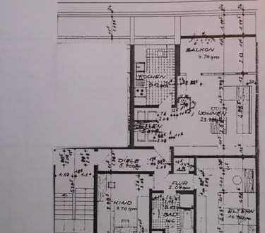 Komfortable 3-Zi-Dachgeschosswohnung