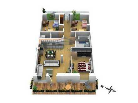 PROVISIONSFREI - Exklusive 4 Zimmer Wohnung auf ca.130m² mit Balkon
