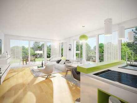 Sonne pur! Lichtdurchflutete 3-Zimmer-Wohnung mit großem Gartenanteil
