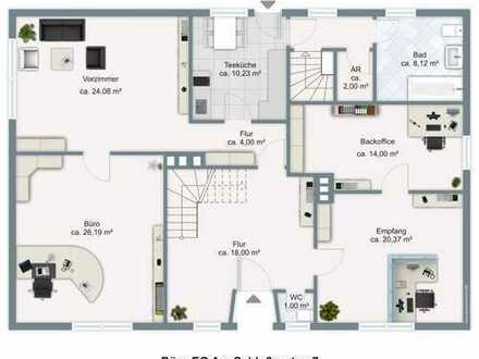 Kleines Haus als Büro, Praxis oder Schulungsräume direkt gegenüber vom Amtsgericht