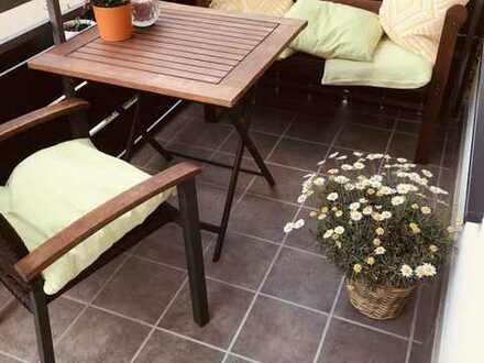 Modernisierte 3-Zimmer-Wohnung mit 2 Balkonen und neuer Einbauküche in Maxdorf-67133