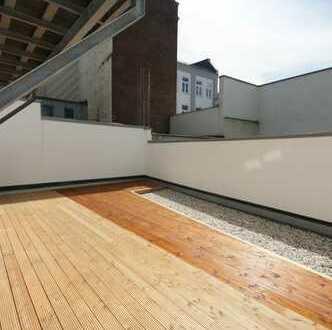 Top Erdgeschoss Wohnung mit eigene Terrasse - Mitten in der Innenstadt!