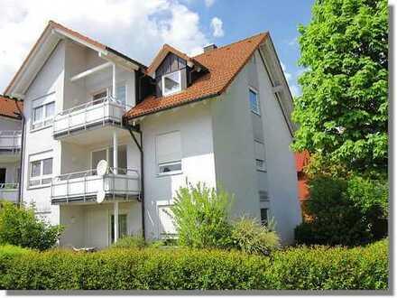 Tolle 3-Zimmer Wohnung mit Garagenplatz in ruhig gelegener ARBURG-Nähe zu vermieten