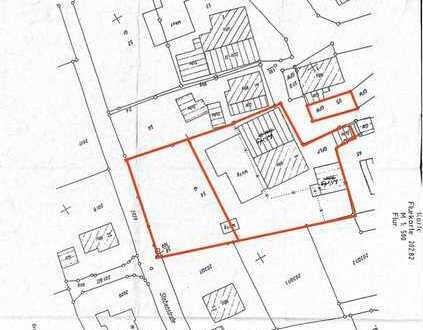 sep. Grundstück mit Denkmalgeschütztem Wohnhaus in Biesingen zu verkaufen