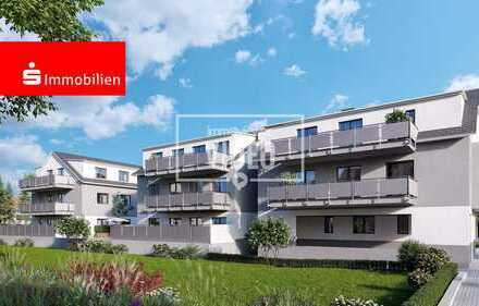 Neubauprojekt in Lorsch - moderne 3 Zimmer-Wohnung mit Balkon