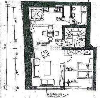 Attraktive 2-Zimmer-Wohnung im Herzen der Bonner Fußgängerzone