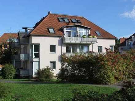 Grüne Stadtrandlage Leubnitzhöhe! 2-Raum-Wohnung, ca. 56 m², EG, 2 Balkone , Süd-West-Ausrichtung