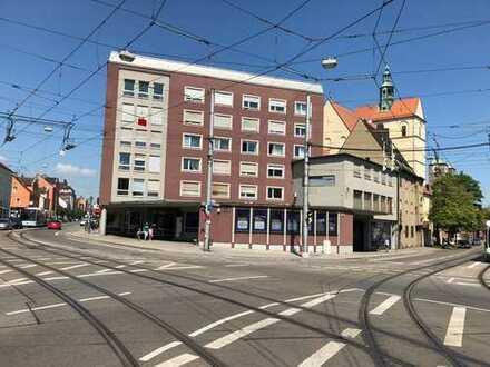 Schöne Stadtnahe 2–Zi.–Wohnung für Singles und junges Paar an der Wertachbrücke