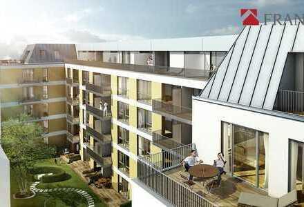 Schöne 2-Zimmer-Wohnung ca. 73,27 m² mit Terrasse und Loggia in Barmbek-Süd