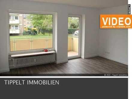 FAMILIEN WOHNEN GERNE HIER! schön aufgeteilte 3 Zimmer Wohnung mit Balkon zu vermieten