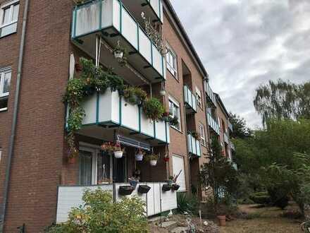 Vermietete 1 Zimmer-Wohnung * 2.OG * Balkon + KFZ Stellplatz