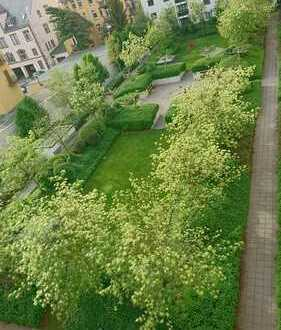 Zentrale 3-Zimmer-Wohnung mit Balkon und EBK 5 Gehminuten vom Skyline Plaza