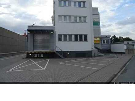 Lagerfläche mit Rampe ( 521 m²) incl. Bürofläche zu vermieten