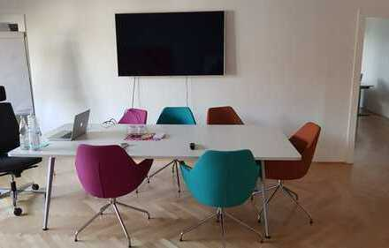 Einzelbüro in kleiner Bürogemeinschaft