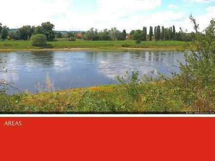AREAS: Baugrundstücke direkt an der Elbe, ohne Hochwassergefahr in Dresden-Söbrigen zu verkaufen.