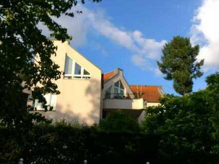 2-Zimmer-Wohnung mit Terrasse in grüner Umgebung