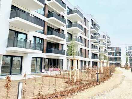 Erstbezug: ruhige Gartenwohnung mit Einbauküche in zentraler Lage, München