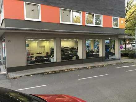 Geräumige Bürofläche im 1. OG - im Ganzen oder aufgeteilt - variabel zu vermieten!