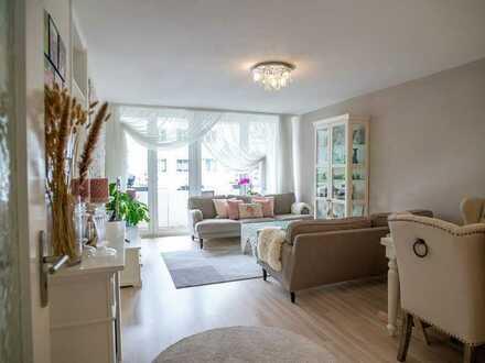 Ideal für Familien! Helle 4-Zimmer-Wohnung mit 2 Balkonen zum Selbstbezug