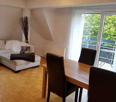 Moderne, helle 3 Zimmer Wohnung in Duisburg mit Blick ins Grüne, in ruhiger Lage, + Gäste-WC