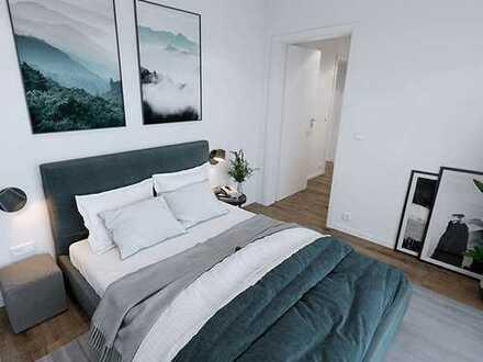 Familienwohnung - große 5-Zi.-Wohnung mit 2 Balkonen u. 2 Tageslichtbädern