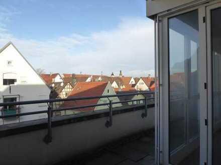 Sonnige 2,5-Zi.- Terrassenwohnung in Kirchheim - Stadtmitte (keine Maklerprovision)