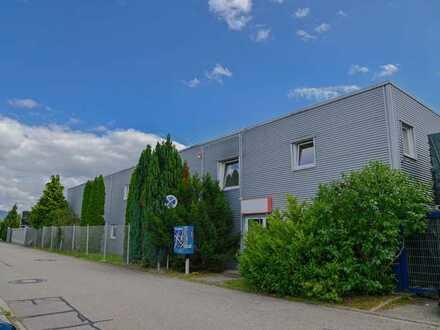 Büroetage und angeschlossene 4 Zimmerwohnung mit Kamin und Terrasse im Gewerbegebiet in Kuppenheim
