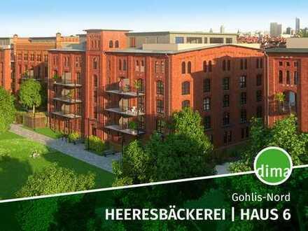 ERSTBEZUG   Heeresbäckerei   Haus 6   2 Bäder   Abstellraum   Südwest-Loggia   TG Stellplatz