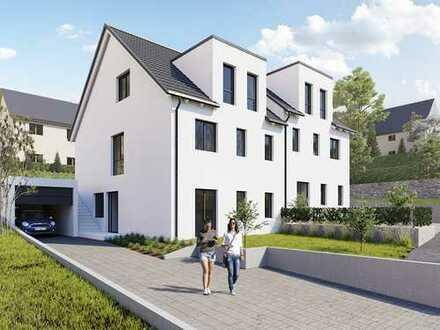 Exklusive Doppelhaushälfte im Herzen von Goldbach