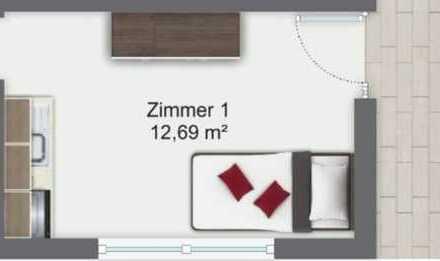 Ab sofort frei! Helles vollständig möbliertes Apartment! Zentrale Lage München - Trudering