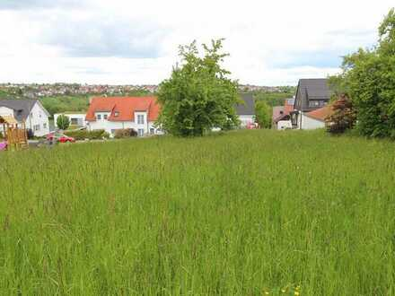 Grundstück für ein freistehendes Haus oder DHH in ruhiger Lage in Altenriet