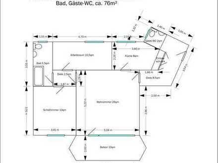3 Zimmer, KDB, Gäste-WC, mit gr. Balkon, nähe Ruhr-Zoo (Zoom), im Stadtteilzentrum(gute Versorgung)