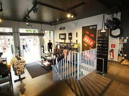 Modernes Ladengeschäft in 1A-Lage