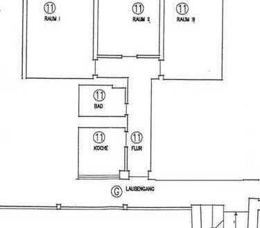 Helle 3-Zimmerwohnung mit Balkon in bevorzugter Wohnlage!