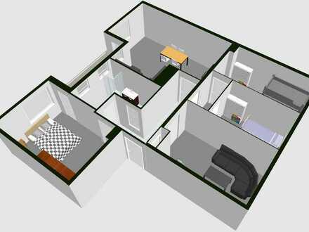 Gepflegte 4-Zimmer-Wohnung mit Balkon in ruhiger TOP-Lage